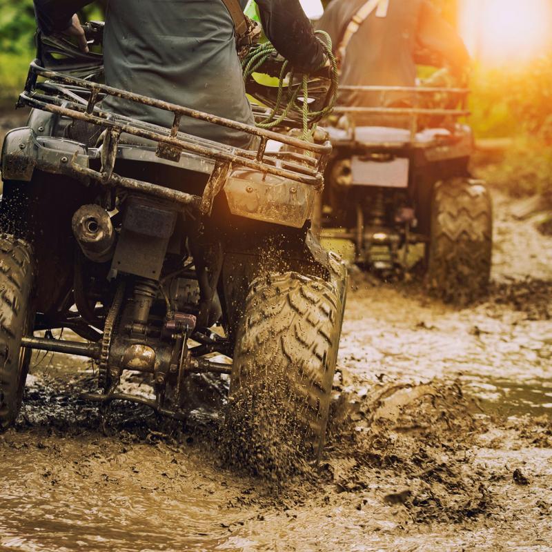 Landowner's quad bike ASBO