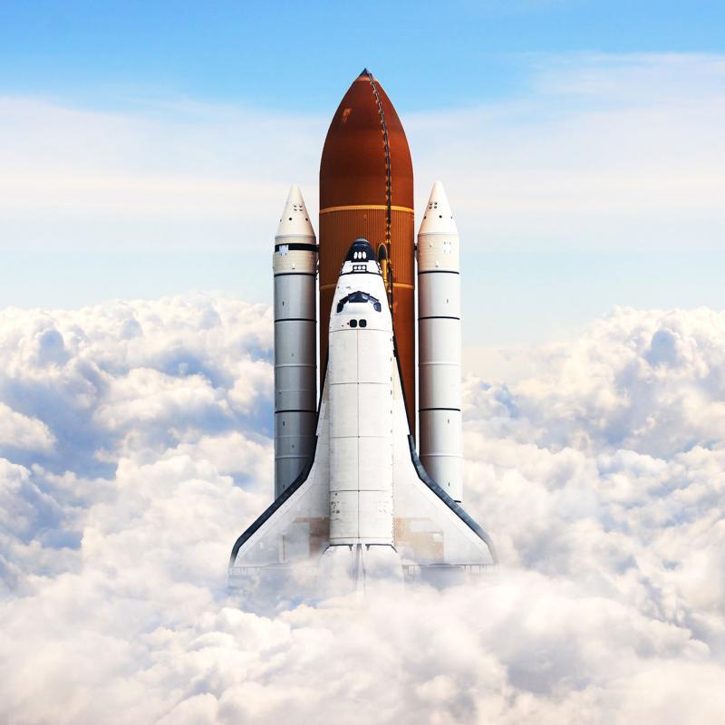 Space Shuttle Rudder